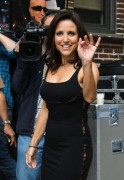 Julia Louis-Dreyfus - Arrives at Ed Sullivan Theater for Letterman interview - 7/31/2014