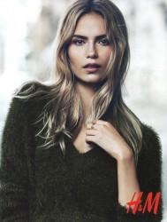 Natasha Poly - H & M August 2014 -x4
