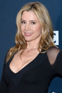 Mira Sorvino, Doctor Who  premiere, NY 14/08/2014