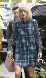 Taylor Swift - Arriving at the Yahoo! offices in NYC 8/18/14
