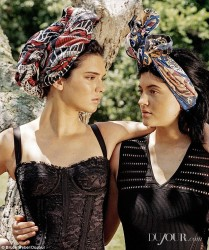 Kendall Jenner and Kylie Jenner - DuJour Magazine Fall 2014