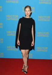 Rosamund Pike UK premiere of 'Hector And The Search For Happiness' in London 08-13-2014