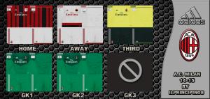 Download PES 2013 A.C. Milan 14-15 GDB
