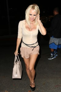 4430ed346464290 Pamela Anderson leaving Chateau Marmont in Los Angeles, August 20 x 21 HQs candids