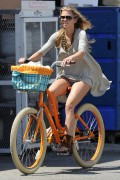AnnaLynne McCord | Riding a Bike in Venice | August 20 | 24 pics