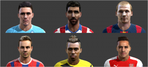 Download International Facepack N°1 For Pes 2013 By Mayo Facemaker