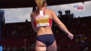 Jirina Svobodova - Pole Vault - Zurich 2014