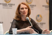 Gates McFadden - Wizard World Chicago Comic Con 22.8.2014 (c-thru to bra) 10xLQ