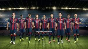 Download PES 2013 PC Start Screen FCB 14-15 by Secun1972