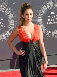 Nina Dobrev - 2014 MTV VMA Awards in LA 8/24/14