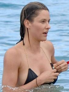 Jill Wagner, bikini, Maui, 26/08/2014