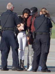Selena Gomez - Arriving in Toronto, Canada 8/28/14