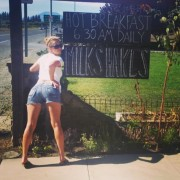Iliza Shlesinger - Showing off in shorts 8/30/14
