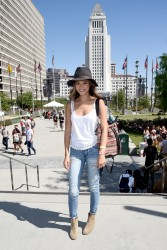 7c839b348525456 Jamie Chung at the 2014 Budweiser Made in America Festival in Los Angeles   August 30, 2014   24 HQ candids