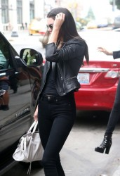 Kendall Jenner - Out & About in NYC 9/1/14
