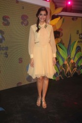 Sonam Kapoor launches new range of Spice Mobiles at Leela Kempinski 10/19/11