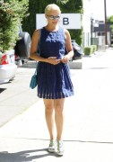 Dianna Agron - Out for lunch in West Hollywood 9/3/14