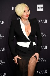 Lady Gaga - Harper's Bazaar Celebrates ICONS by Carine Roitfeld event in NYC 9/5/14