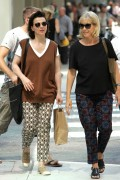 Juliette Binoche is seen out and about in Toronto September 4-2014 x7
