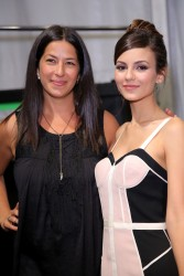Victoria Justice at the Rebecca Minkoff fashion show during Mercedes-Benz Fashion Week Spring 2015 – September 5, 2014 – 25