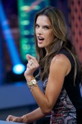 "Alessandra Ambrosio @ ""El Hormiguero"" TV Show in Madrid 