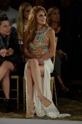 Bella Thorne - Sherri Hill fashion show in NYC 9/11/14