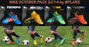 Download Nike October 2014 Boots Pack PES 2013 by #Flare