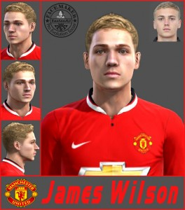 Download James Wilson HD Face by SantanAji For PES 2013