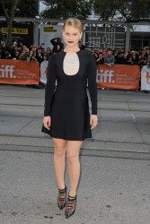 "Alice Eve - ""Before We Go"" premiere at the TIFF in Toronto 9/12/14"