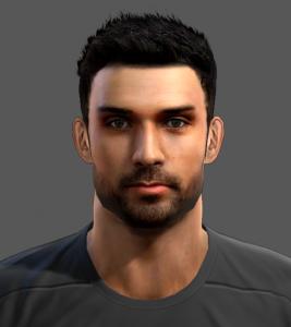 Download PES2013 Ángel Moyá Face by Juegav