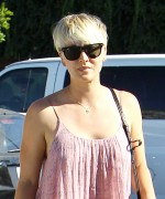 Kaley Cuoco - Leaving Andy LeCompte Salon in West Hollywood 09/15/ 2014