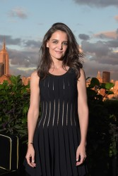 Katie Holmes - DuJour Magazine Cover Party in NYC 9/16/14