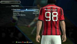 Download Pes 2013 Callname Pack by Nedz