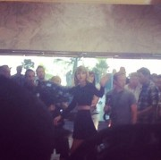 Taylor Swift - filming a promo video for iHeartRadio at the MGM Grand in Las Vegas 09/18/14