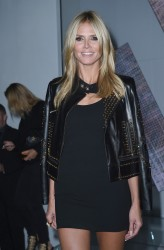 Heidi Klum - Versace SS 2015 Fashion Show in Milan 9/19/14