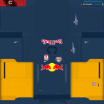 PES2014 FC Red Bull Salzburg Kits 14-15 by randerscheinung