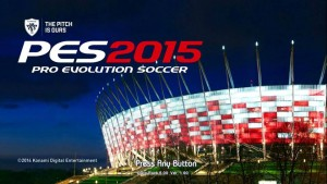 Download PES 2015 Startscreen for PES 2013 by madn11