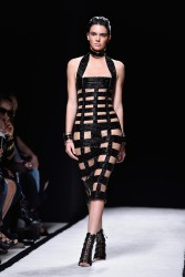 Kendall Jenner Walking The Runway at a Fashion Show in Paris - September 25, 2014