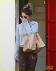 Vanessa Hudgens - Out & About in LA 9/25/14