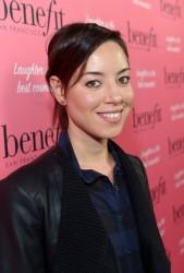 Aubrey Plaza - Benefit Cosmetics Kick-Off National Wing Women Weekend in LA 9/26/14