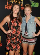 "Audrey & Maddy Whitby @ ""Star Wars Rebels"" Screening in Century City 
