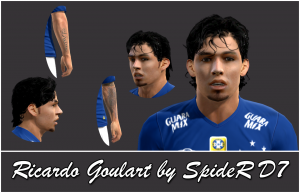 Download PES 2013 Ricardo Goulart Face by SpideR D7