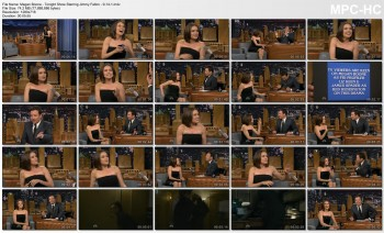 Megan Boone - Tonight Show Starring Jimmy Fallon - 9-14