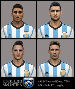 Download PES 2014 Argentina NT Facepack by Fede