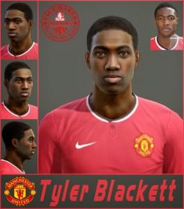 Download PES 2013 Tyler Blackett Face By SantanAji