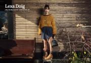 Lexa Doig - The 100 Mile Outfit Photoshoot x2