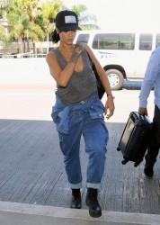 Rihanna - LAX Airport 9/30/14