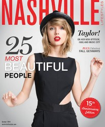 Taylor Swift - Nashville Lifestyles magazine October 2014