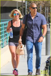 Britney Spears - Going to the gym in LA 10/1/14