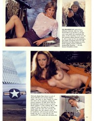 playboy girls naked and armed
